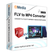 Free Download4Media FLV to MP4 Converter for Mac