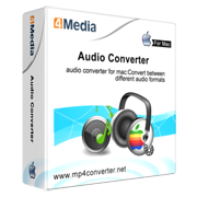 4Media Audio Converter for Mac