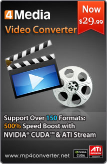 4Media Video Converter for Mac