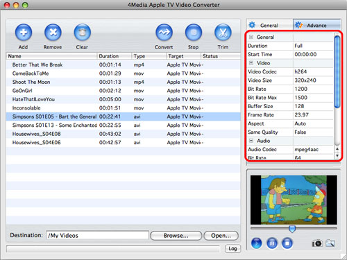 Video to Apple TV MP4 converter Mac