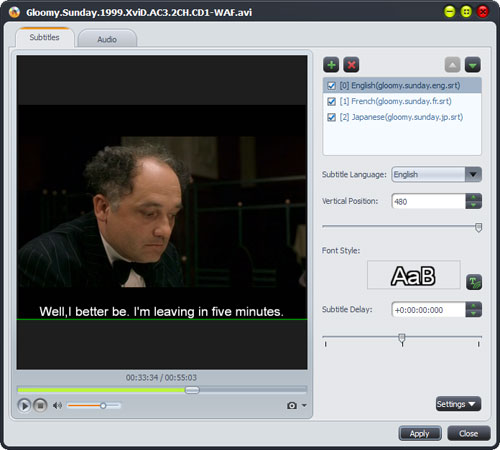 Convert AVI to DVD