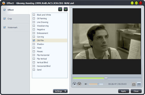Convert AVI to DVD movie