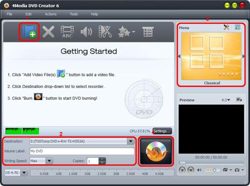 How to burn AVI to DVD