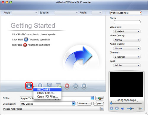 How to convert DVD to MP4 for Mac