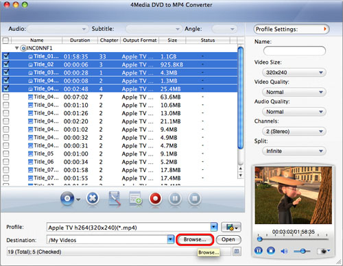 How to convert DVD to MP4 Mac