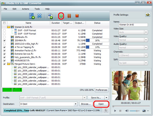 How to convert FLV to SWF format