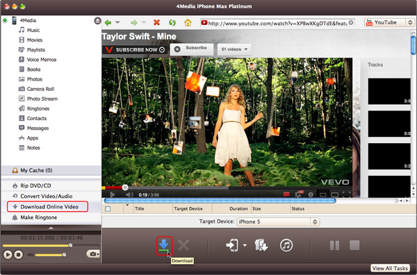 Download and convert online videos at one click