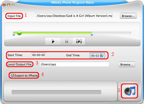 Convert MP3 to iPhone ringtone on Mac