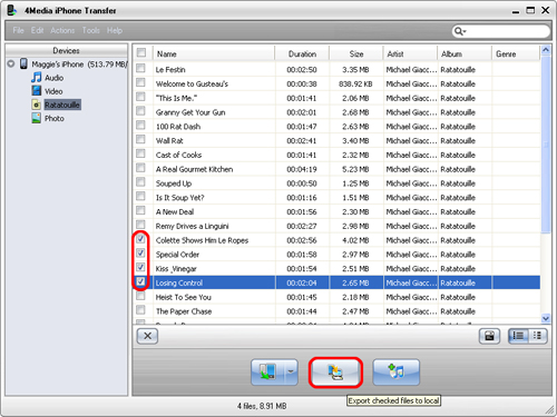 How to transfer iPhone music to PC