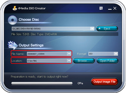 How to convert DVD to ISO