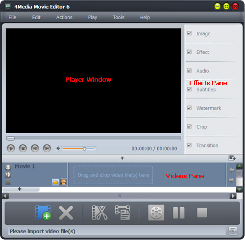 How to create movies from videos