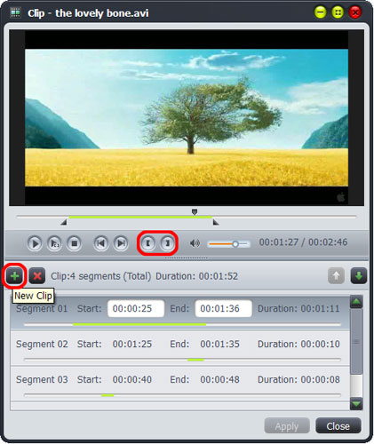 How to make videos into movie