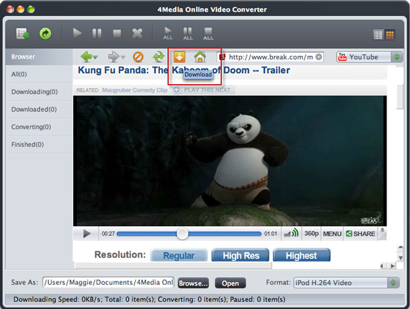 download and convert online videos