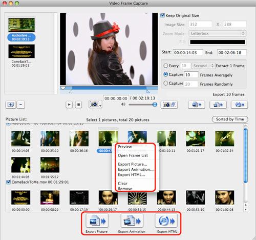 How to capture frame from video on Mac