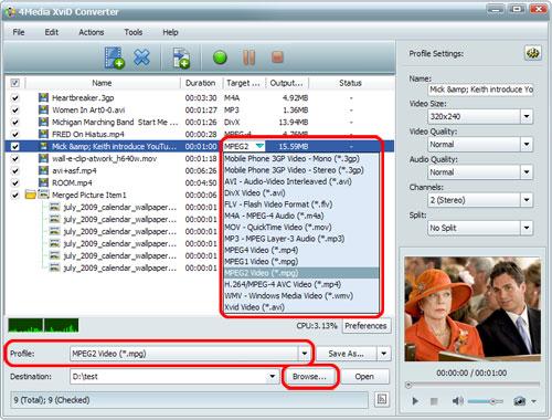 XviD Video Converter