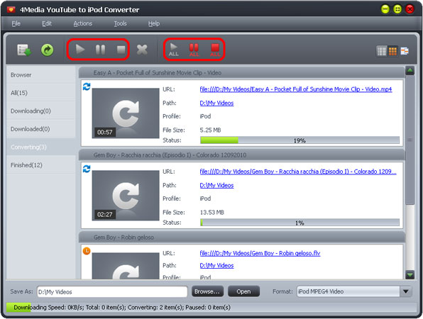 Download and convert YouTube to iPod