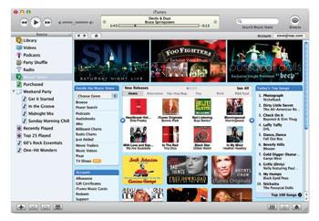 iTunes Movie Store